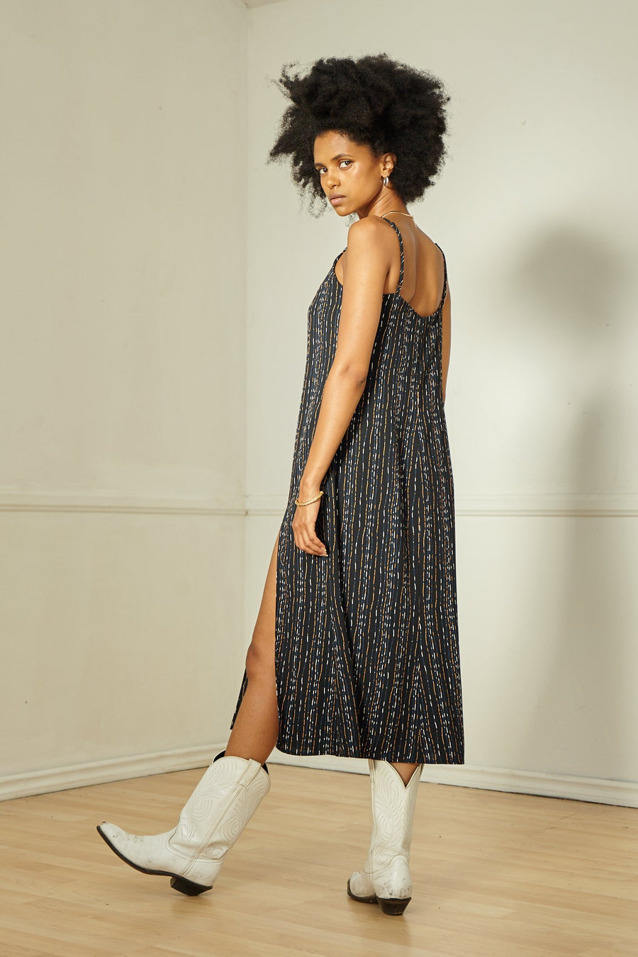 Emma Midi Slip Dress