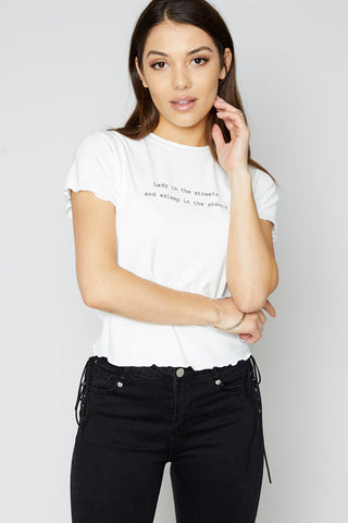 Lady in the Streets Tee
