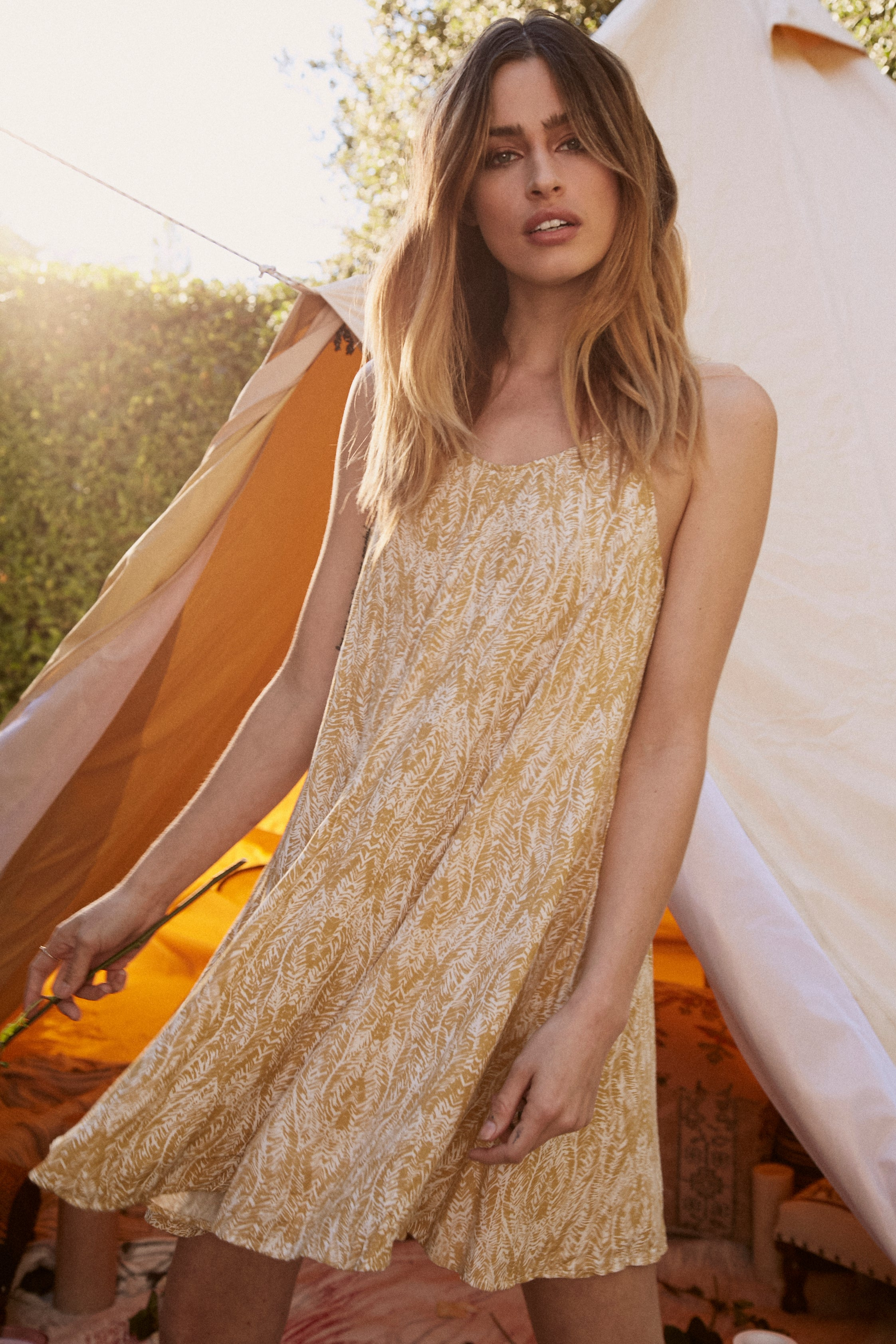 Golden State Tunic Dress