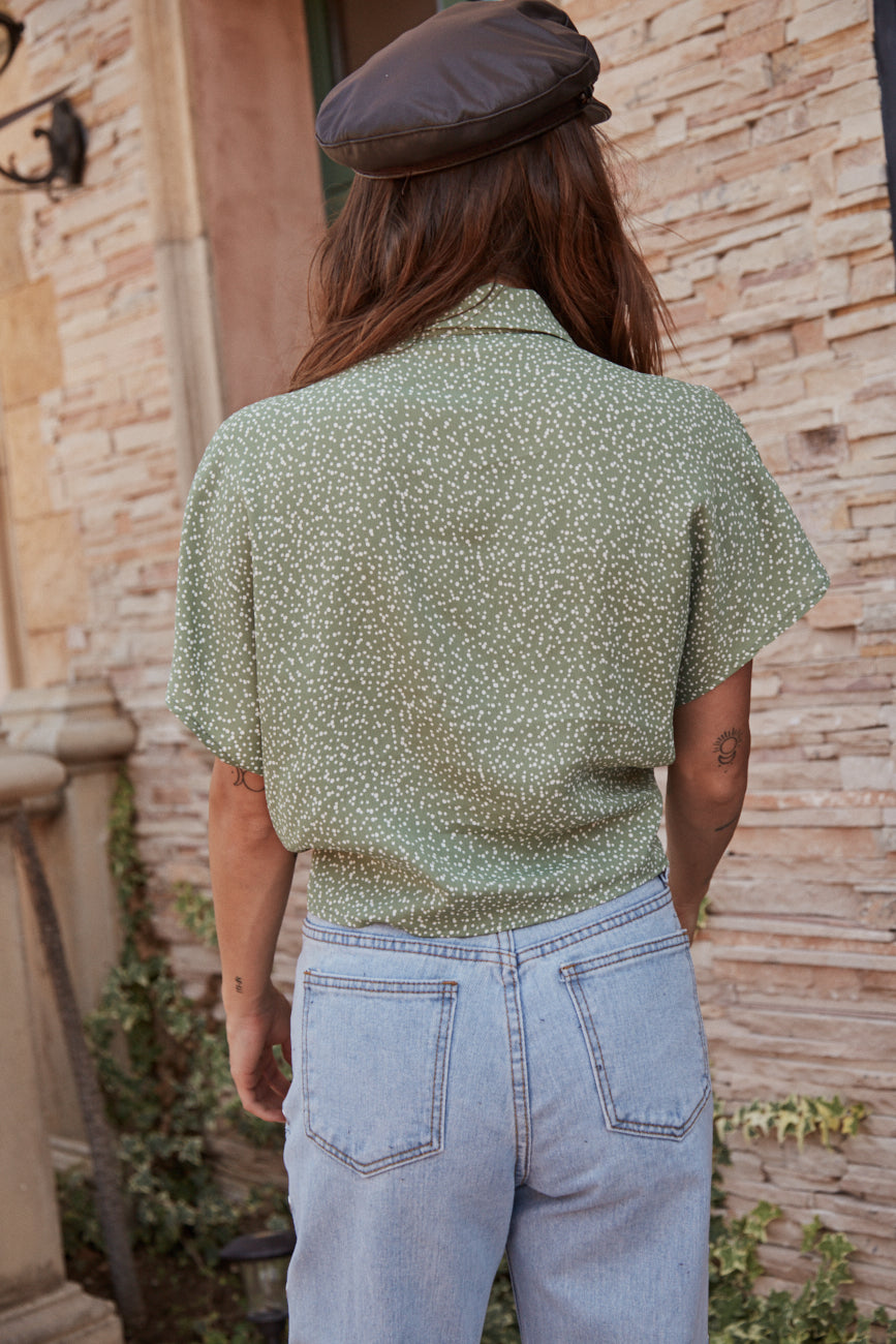Keep Her Wild Blouse