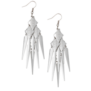 Charan Silver Earrings - Leo With Love