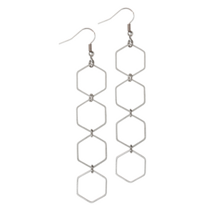 Kaya Silver Earrings - Leo With Love