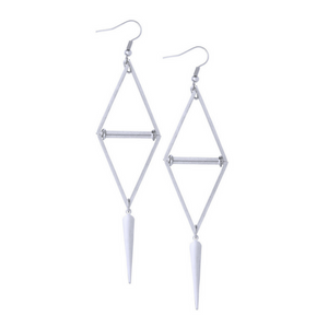 Laura Silver Earrings - Leo With Love
