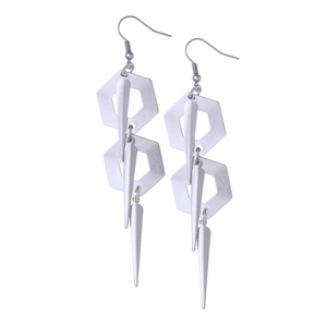 Katrina Silver Earrings - Leo With Love