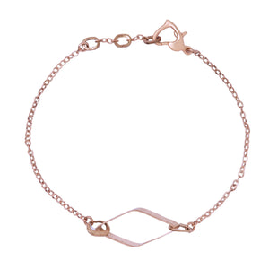 Emily Rose Gold Bracelet - Leo With Love