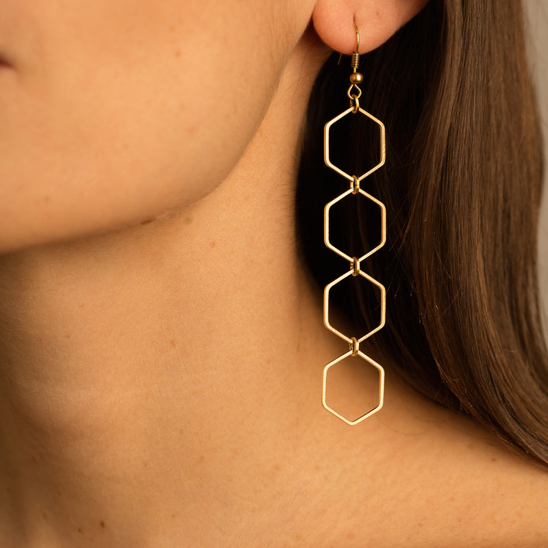 Kaya Earrings - Leo With Love