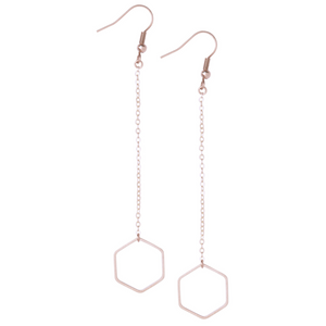 Lorna Rose Gold Earrings - Leo With Love