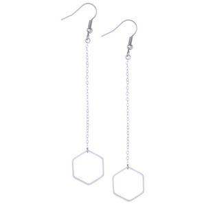 Lorna Silver Earrings - Leo With Love