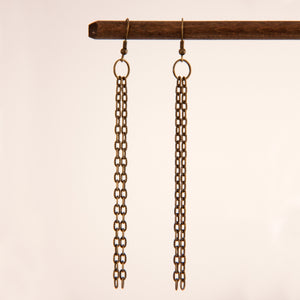 Zina earrings in Antique - Leo With Love