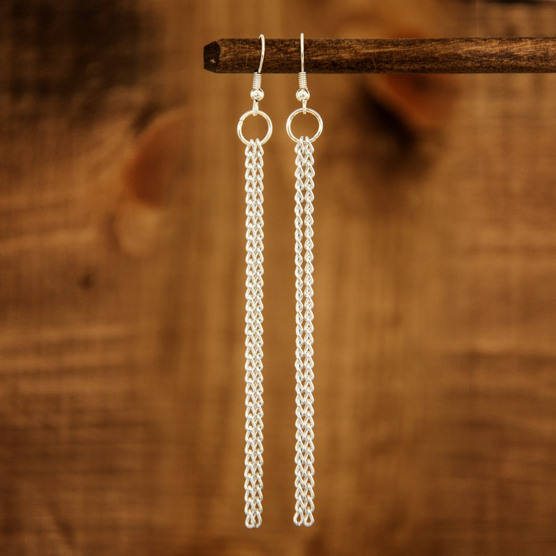 Zina earrings in Metal - Leo With Love