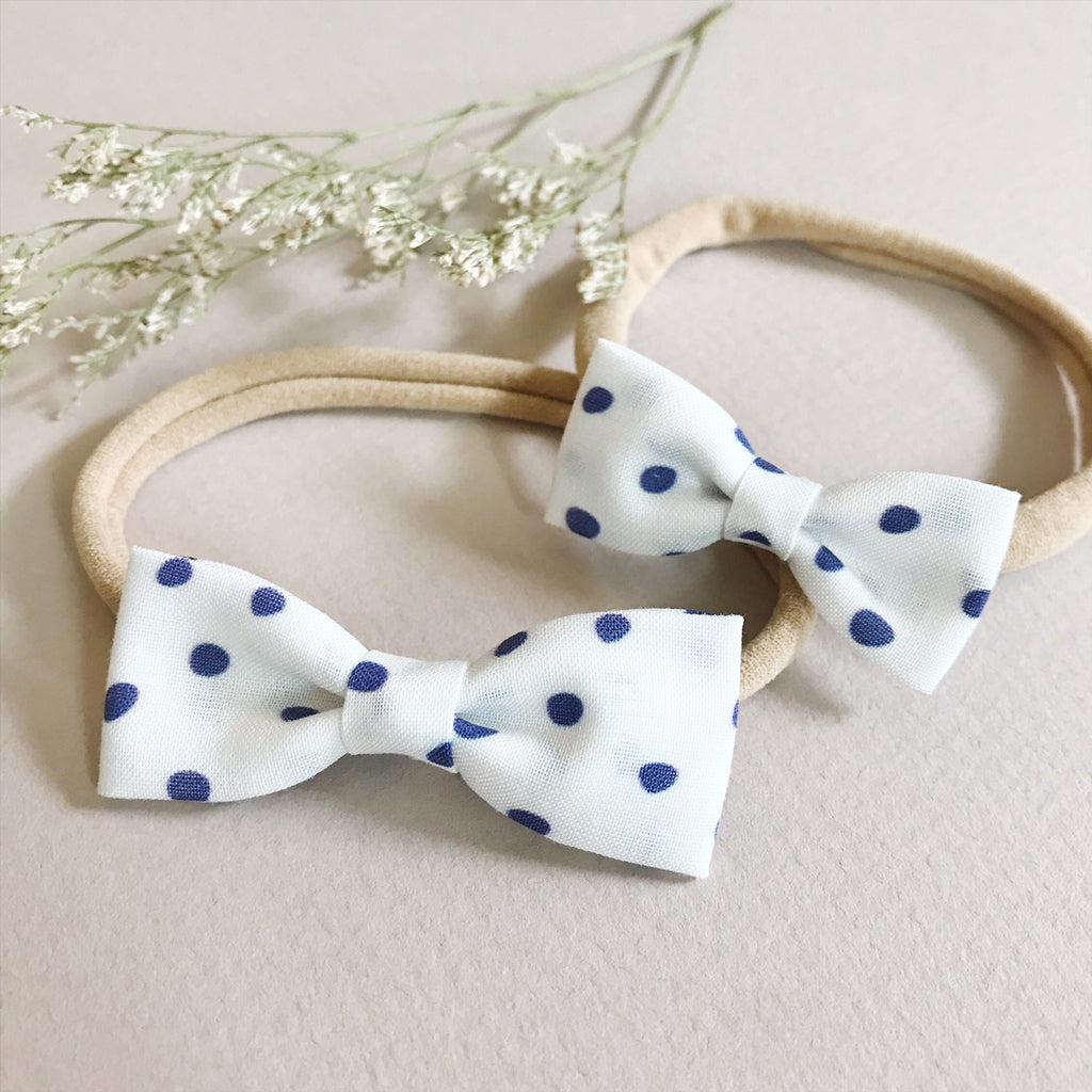 Blue Polka Dot - Ever Iris Designs