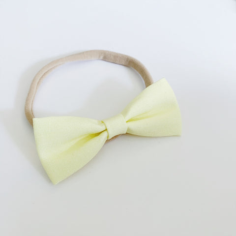 Buttercup Yellow Bow Tie