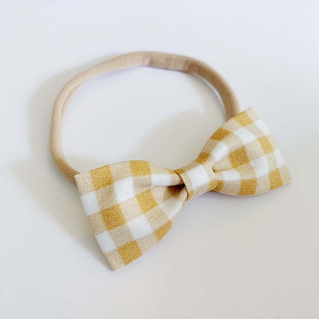 Butterscotch Bow Tie
