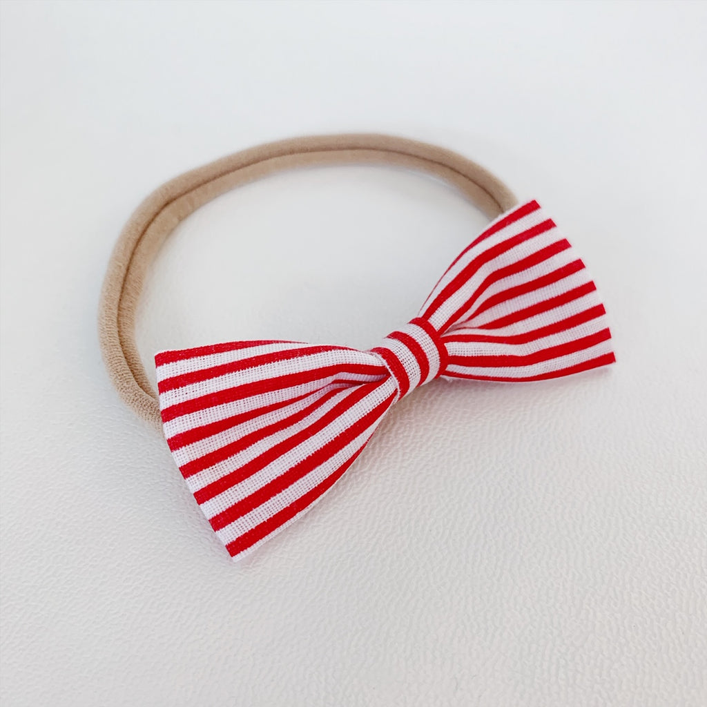 Candy Striper Bow Tie - Ever Iris Designs
