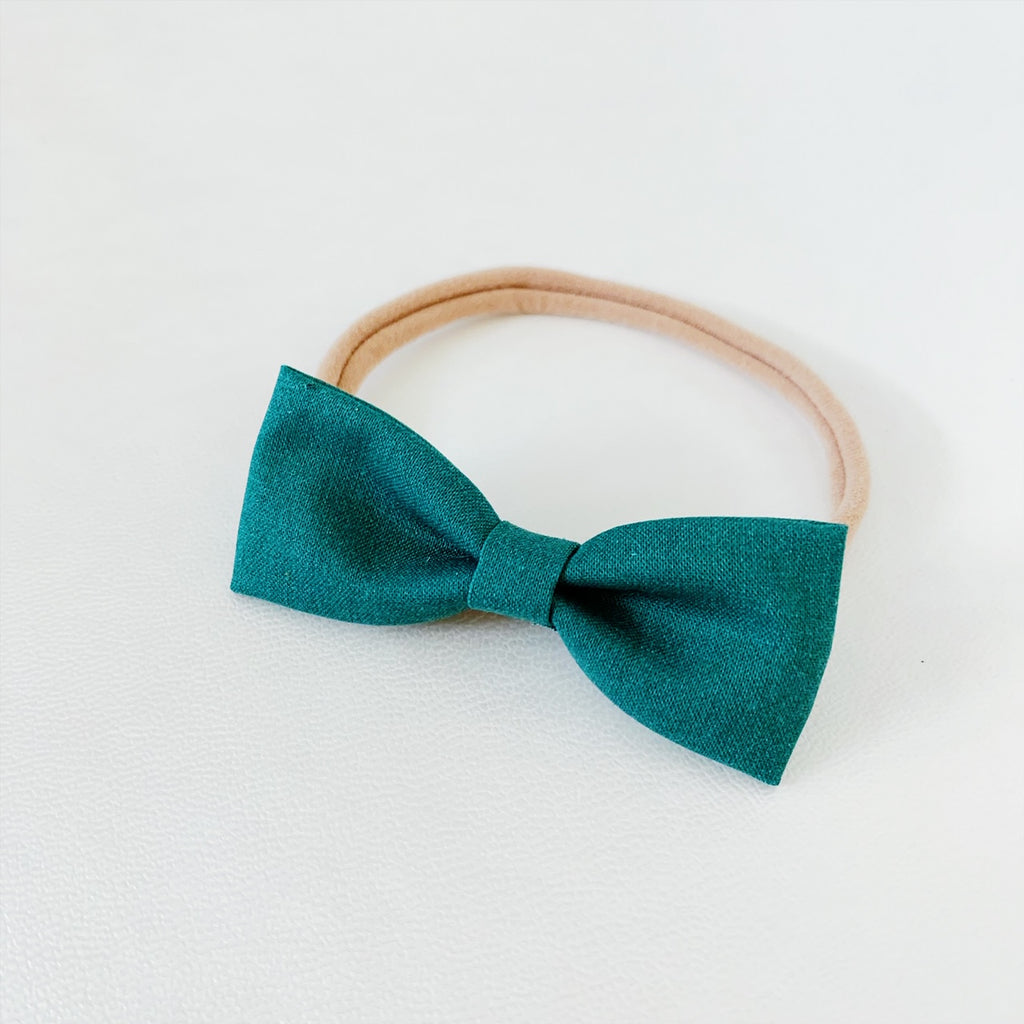 Emerald Bow Tie - Ever Iris Designs