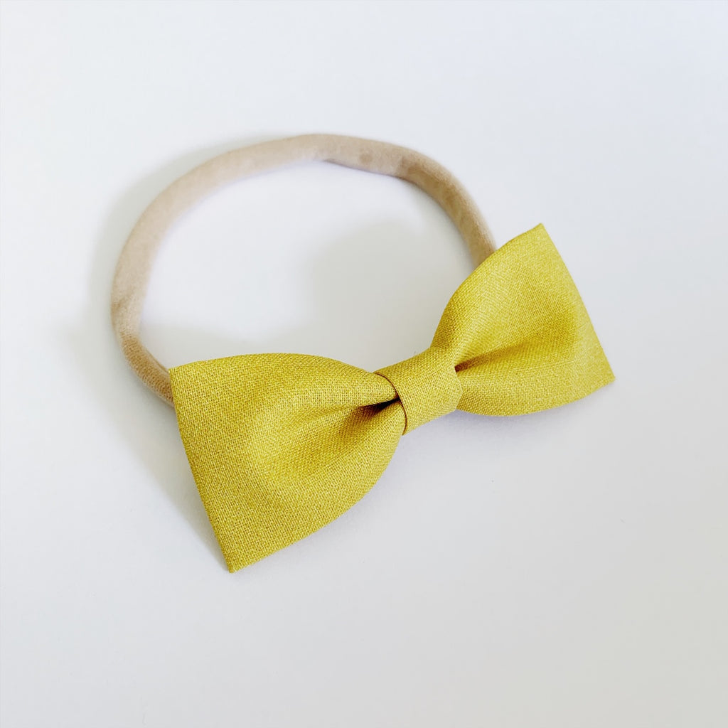 Marigold Bow Tie - Ever Iris Designs