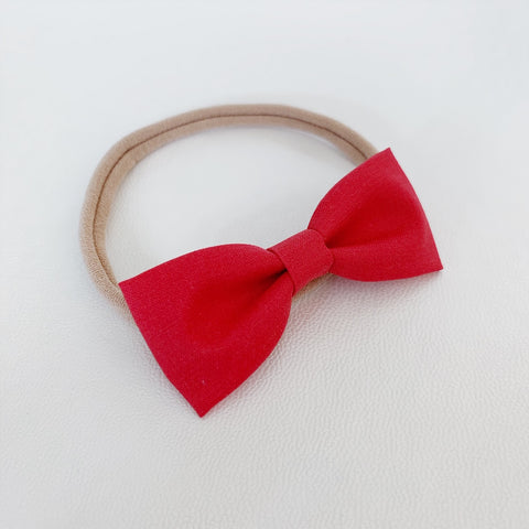 Cherry Red Bow Tie - Ever Iris Designs