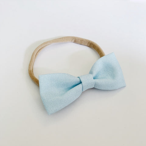 Robins Egg Blue Bow Tie