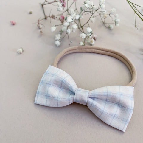 Pastel Plaid Bow Tie