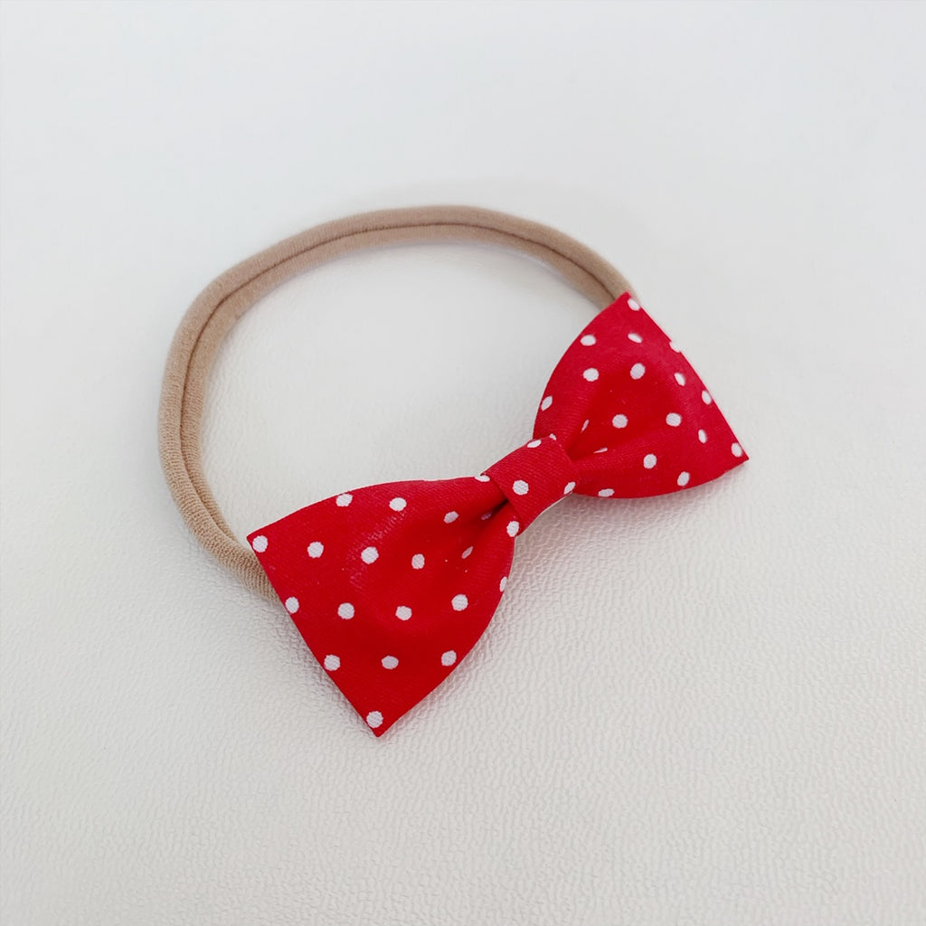 Red with White Polka Dots Classic - Ever Iris Designs