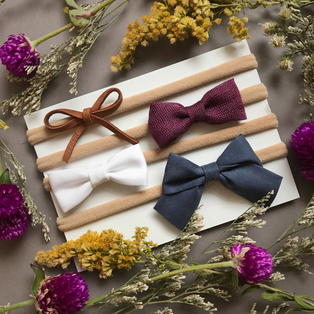 Everyday Bow Collection Mixed Styles - Ever Iris Designs