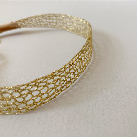Gold Lace Filigree Wraparound
