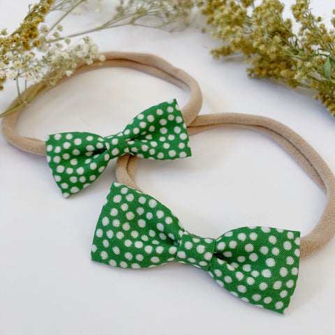 Green Polka Dot - Ever Iris Designs