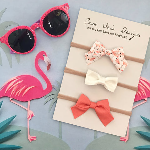Pink Flamingo Collection Mini School Girl