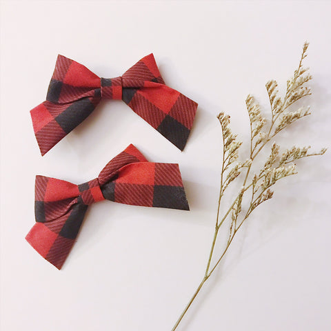 Mini School Girl Buffalo Plaid - Ever Iris Designs