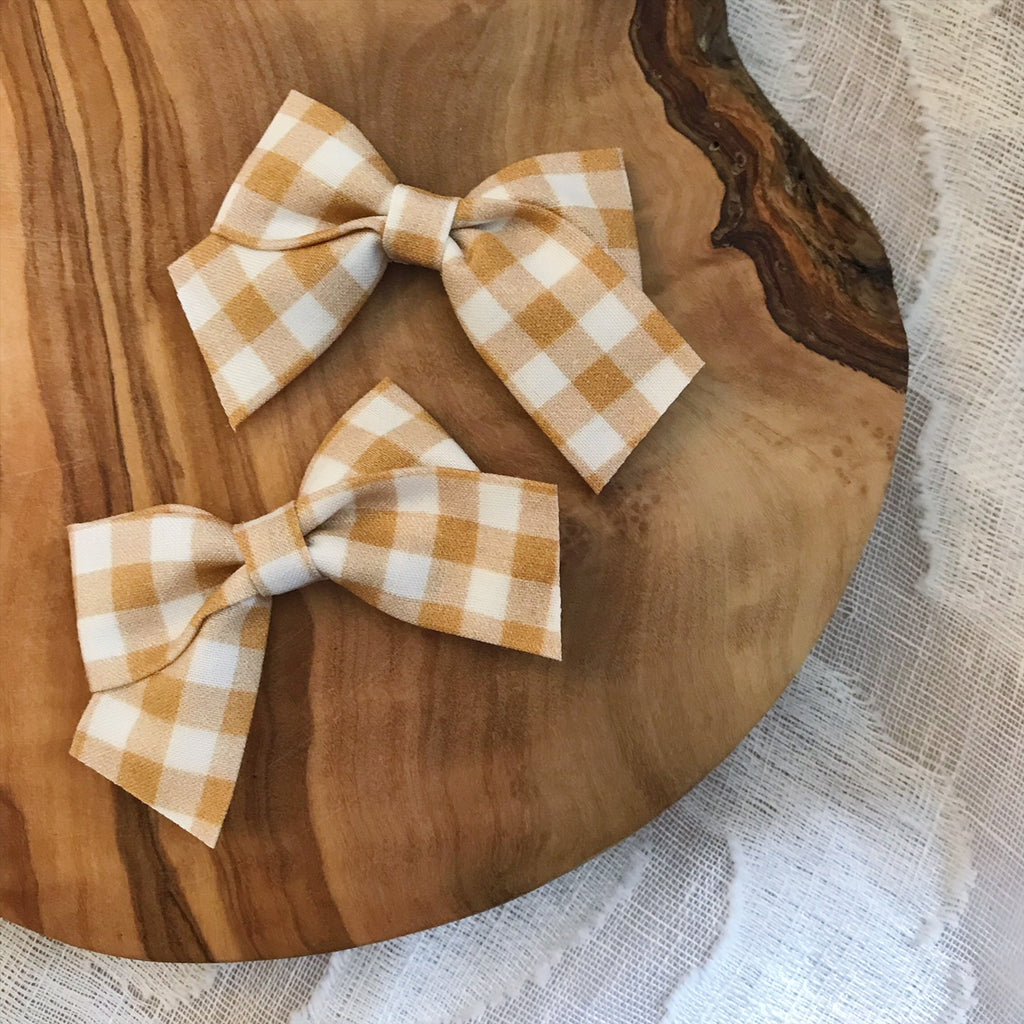 Mini School Girl Butterscotch - Ever Iris Designs