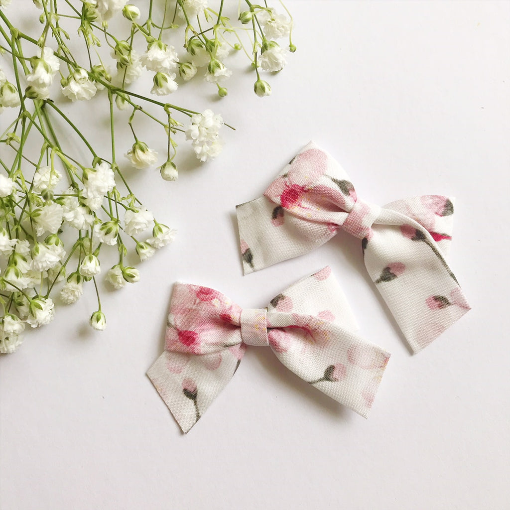 Mini School Girl Cherry Blossom - Ever Iris Designs