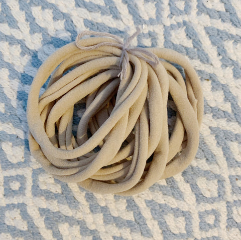 Nylon Elastic Bands - Headbands - Bands for Face Masks - NUDE and BLACK