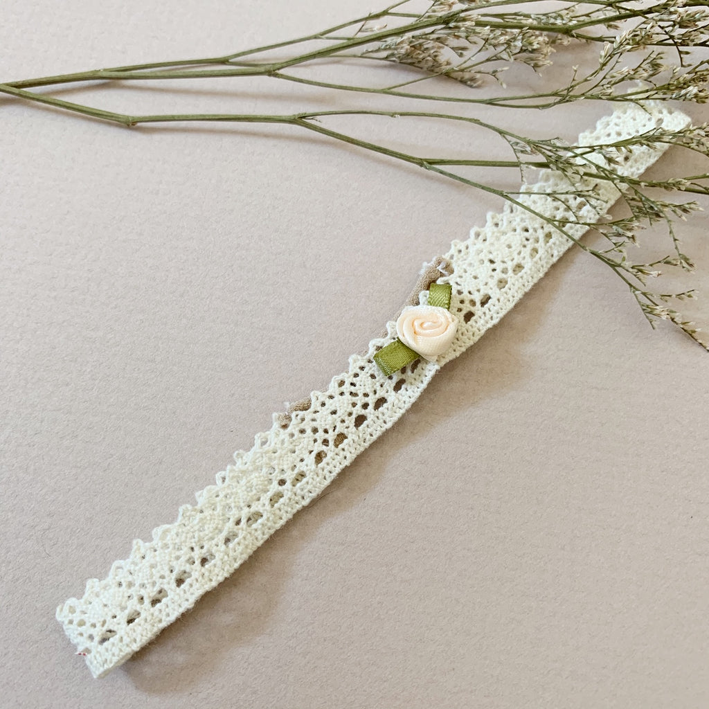Rosebud Lace Wraparound - Ever Iris Designs