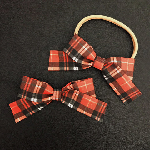 School Girl Autumn Plaid