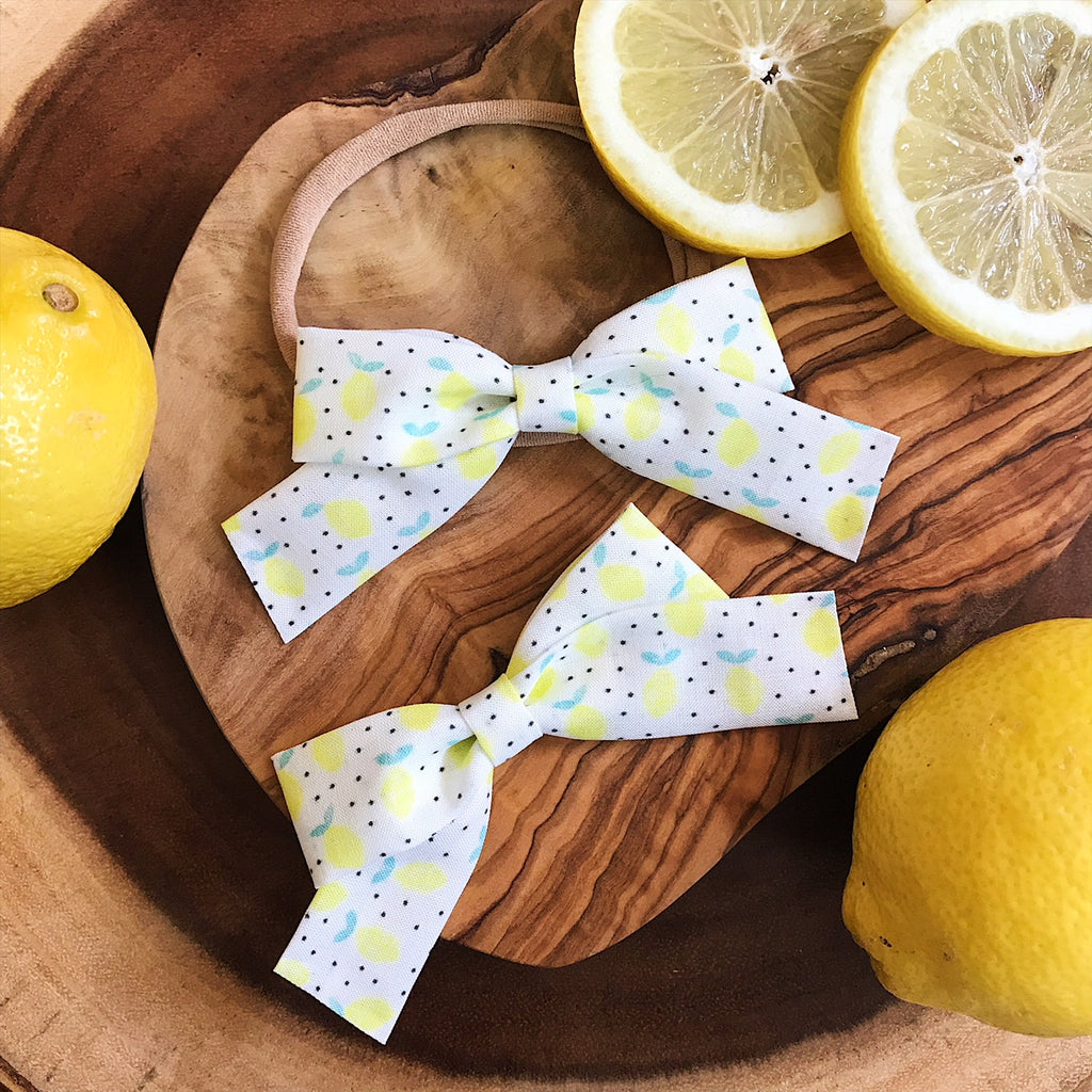 School Girl Lemon Poppyseed - Ever Iris Designs