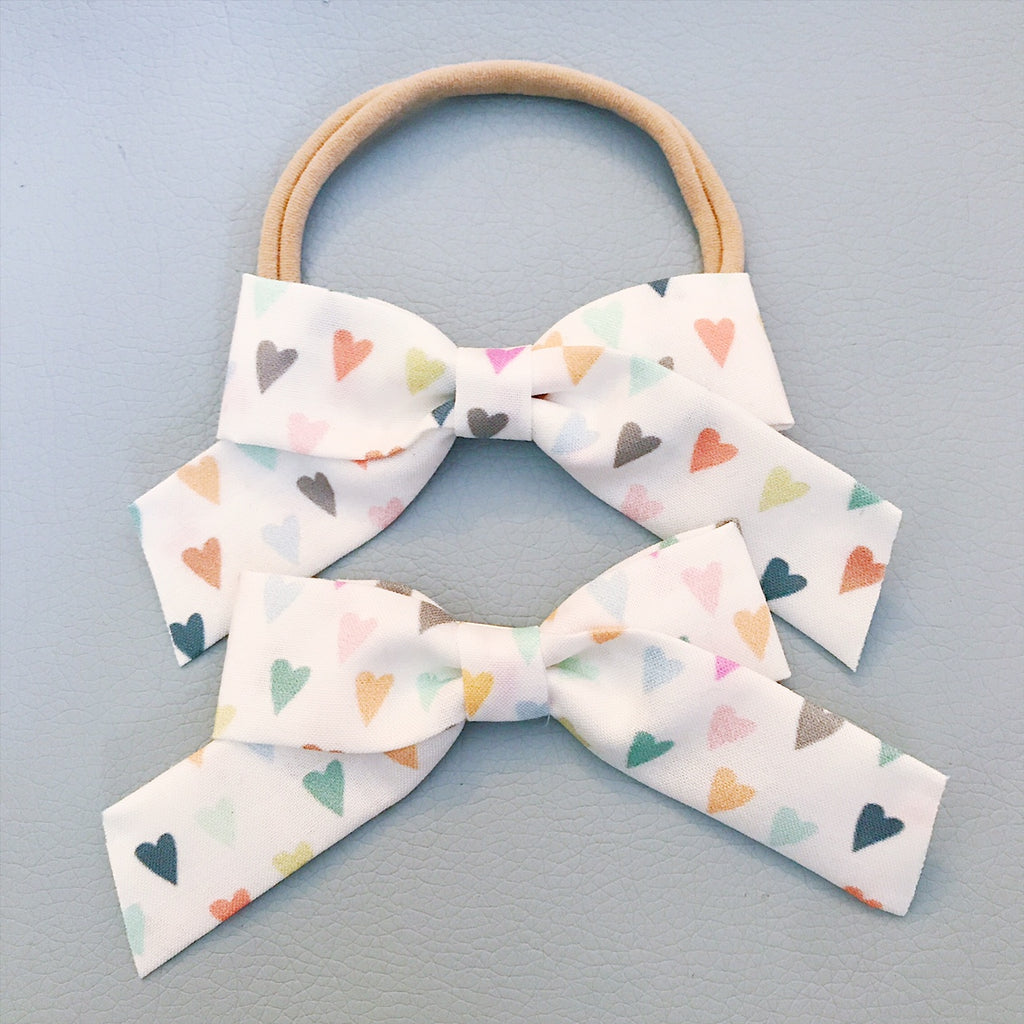 School Girl Pastel Hearts