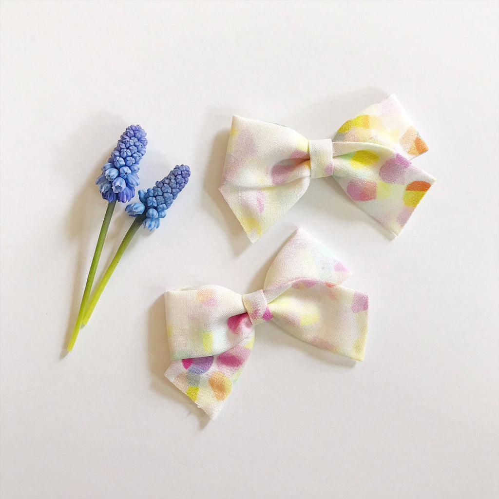 Mini School Girl Pastel Petals - Ever Iris Designs