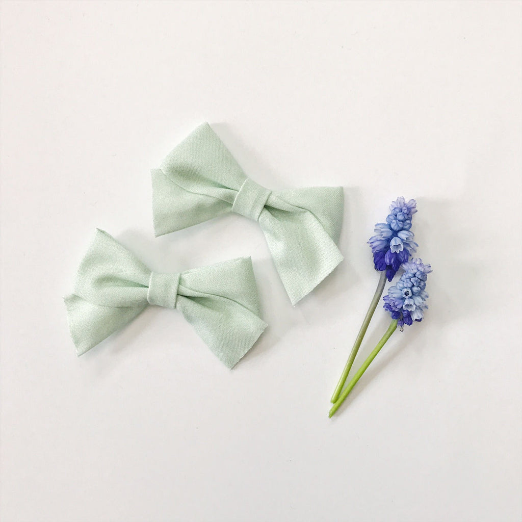 Mini School Girl Mint Green - Ever Iris Designs