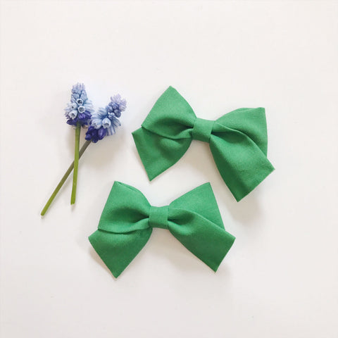Mini School Girl Kelly Green - Ever Iris Designs