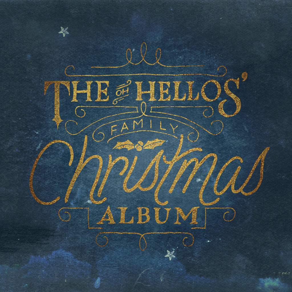 The Oh Hellos: The Oh Hellos Family Christmas Album Limited Edition Vinyl LP