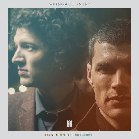 For King & Country: Run Wild, Live Free, Love Strong Vinyl LP
