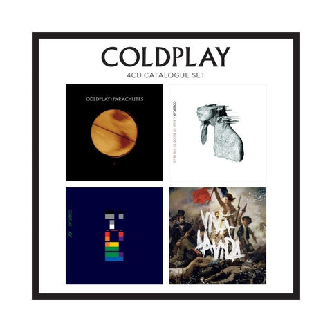 Coldplay: 4 Album CD Box Set (UK Import)