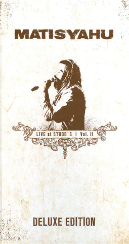 Matisyahu: Live At Stubbs Vol. 2 Deluxe Edition CD+DVD