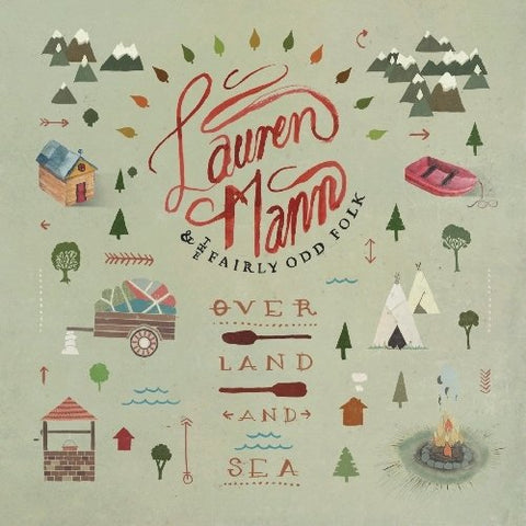 Lauren Mann & The Fairly Odd Folk: Over Land and Sea CD
