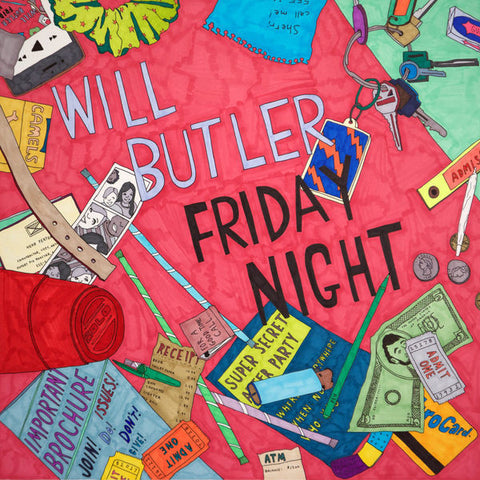 Will Butler: Friday Night CD