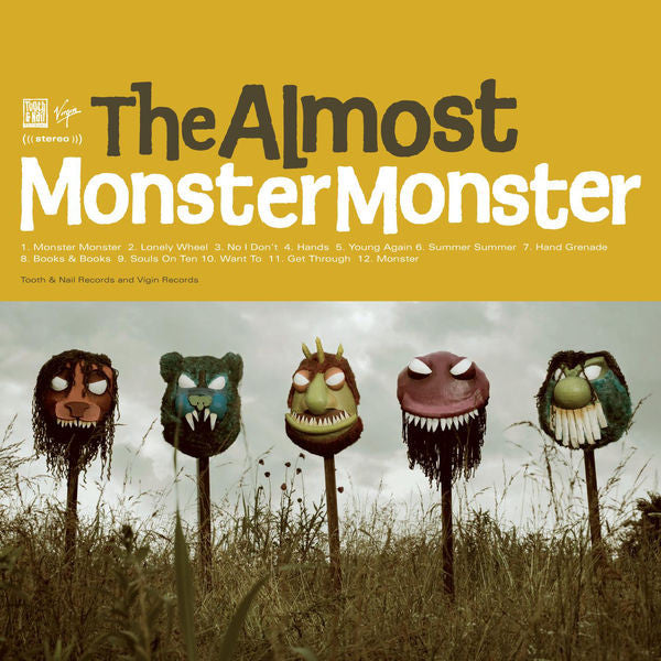 The Almost: Monster Monster CD