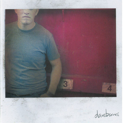 Dave Barnes: Three Then Four CD