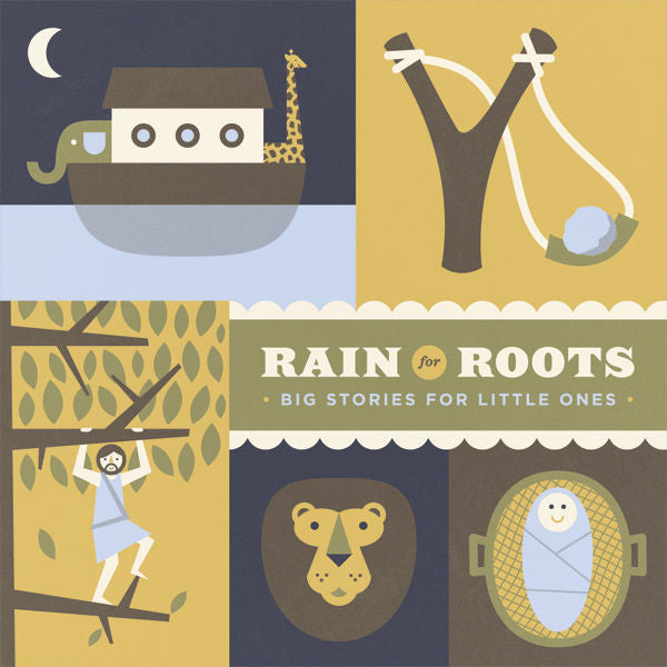 Rain For Roots: Big Stories For Little Ones CD