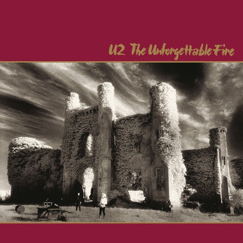 U2: The Unforgettable Fire Vinyl LP (Remastered)