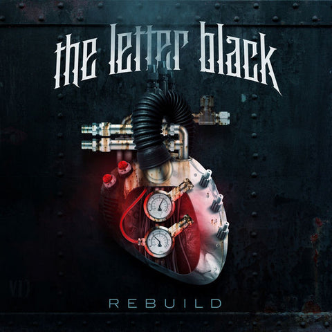 The Letter Black: Rebuild CD